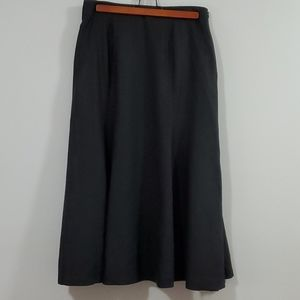 Margareta 100% Linen Skirt A-Line Flared